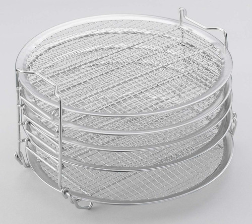 Dehydrator Rack Compatible with Ninja Foodi 6.5 & 8-qt AOP104BRN Stainless Steel