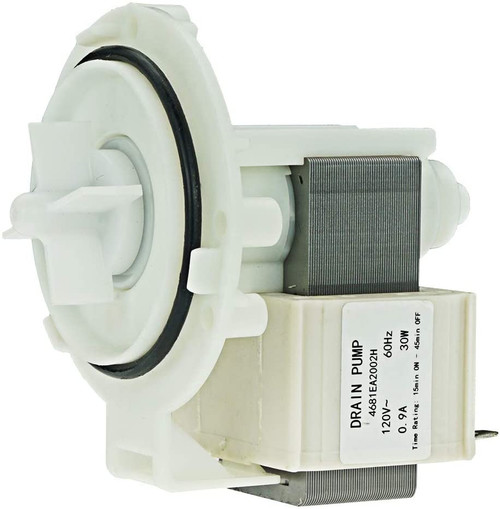 Drain Pump Compatible with LG Washer and Dishwasher 4681EA2002H EAU61383518