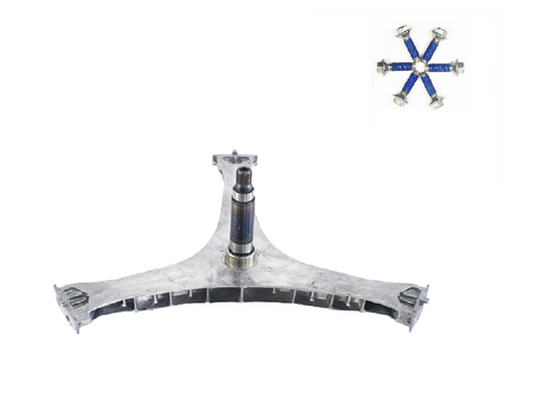 Assembly Flange Shaft Compatible with Samsung Washer DC97-17004B ( 6 Screws )