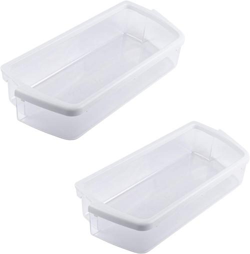 Door Shelf Bin Compatible with Whirlpool Refrigerator W10321304 ( 2 PCs )