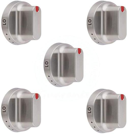Dial Knob Compatible with Samsung DG64-00472B DG6400347B DG64-00347B ( 5 Pack )