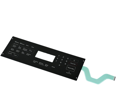 Membrane Switch Touchpad Overlay Compatible with Samsung Range Oven DG34-00020A