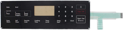 Membrane Switch Touchpad Samsung Range Oven DG34-00025A