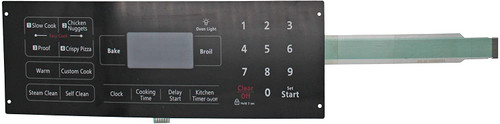 Membrane Switch Replace Compatible with Samsung Range Oven DG34-00014A