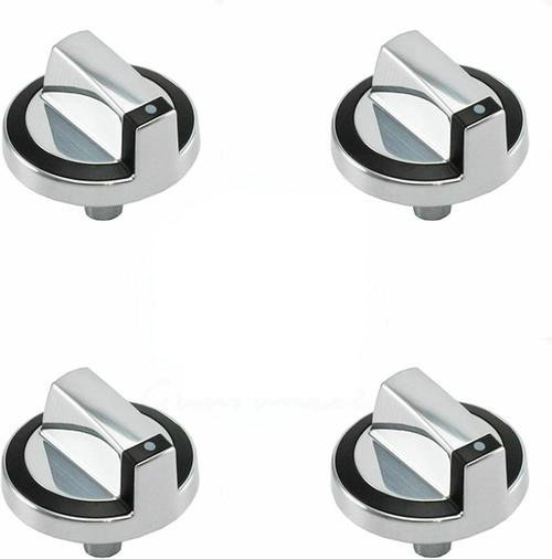 Control Knob Compatible with Whirlpool Range W10284885 G7CG3064XB00 ( 4 PCs )