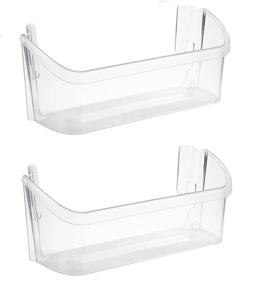 Bin Door ( Lower Bin ) Compatible with Frigidaire Refrigerator 240363702 ( 2 Pack )