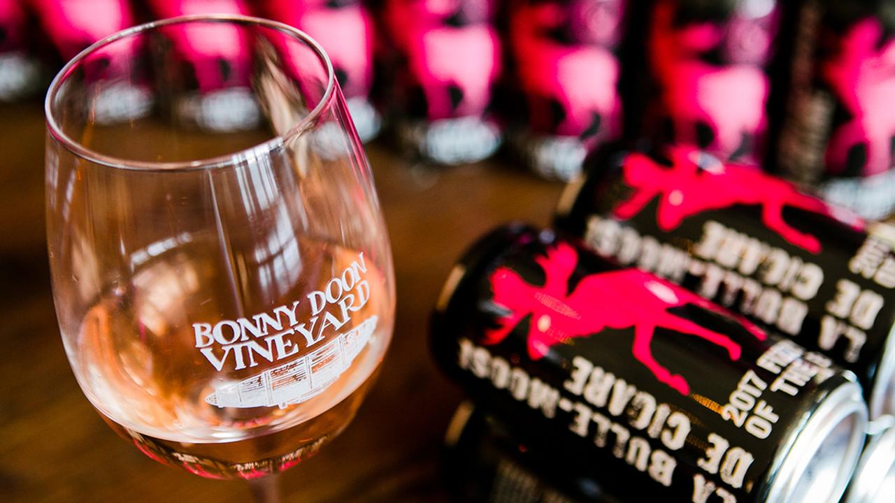 Bonny Doon, Sparkling Rosé, 'La Bulle-Moose' 2017