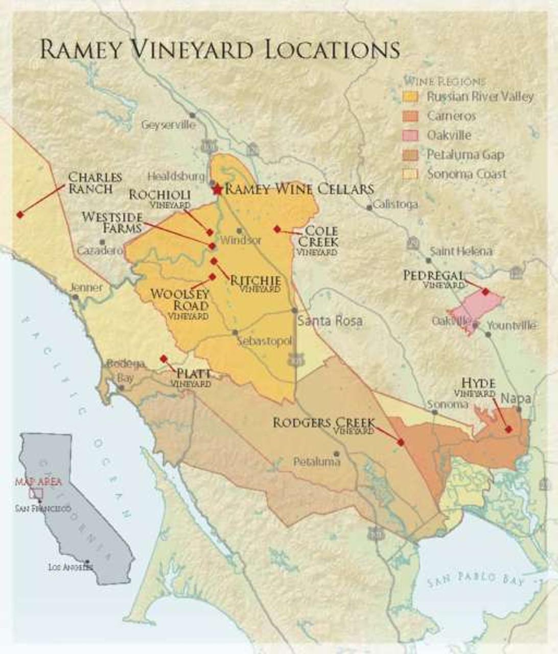 Ramey Vineyard Map