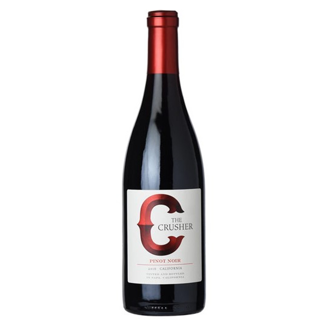 The Crusher, Pinot Noir Grower's Selection Clarksburg 2016