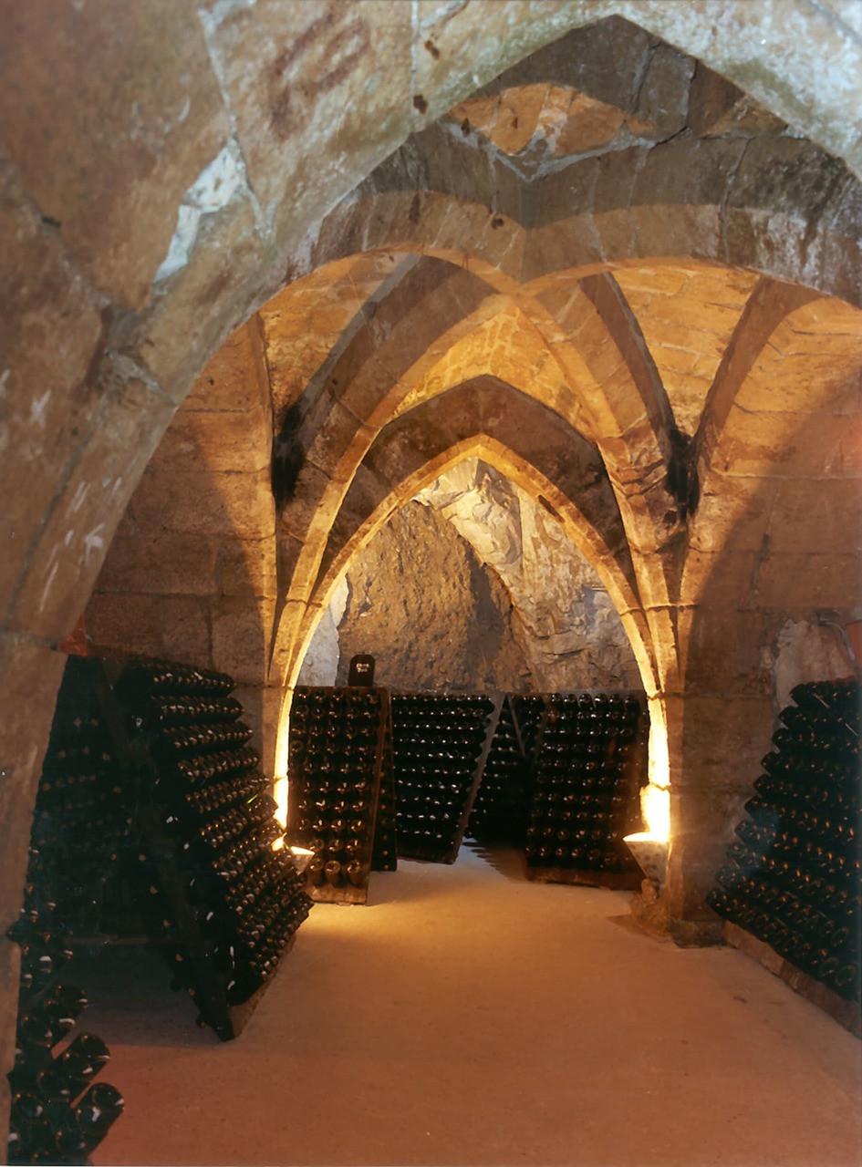 Taittinger chalk cellars