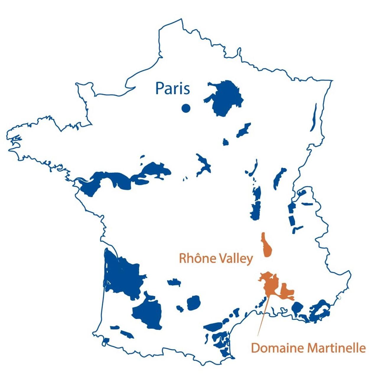 DOMAINE MARTINELLE, 2015 Ventoux Rouge