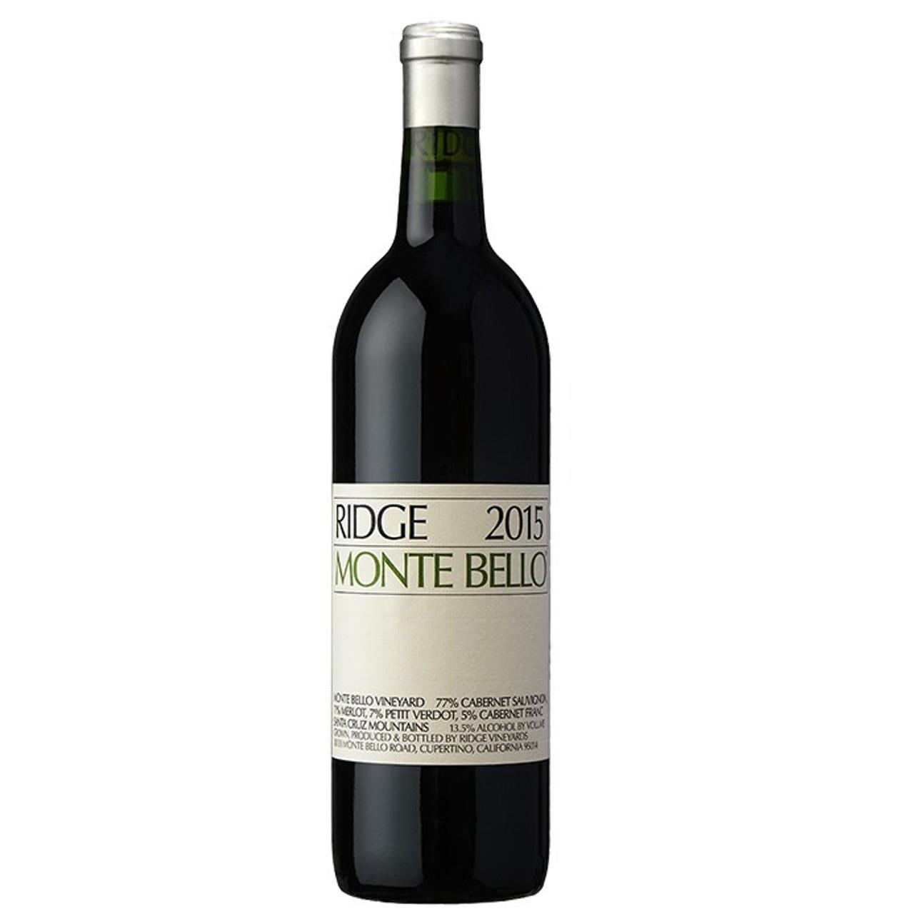 Ridge Monte Bello 2015