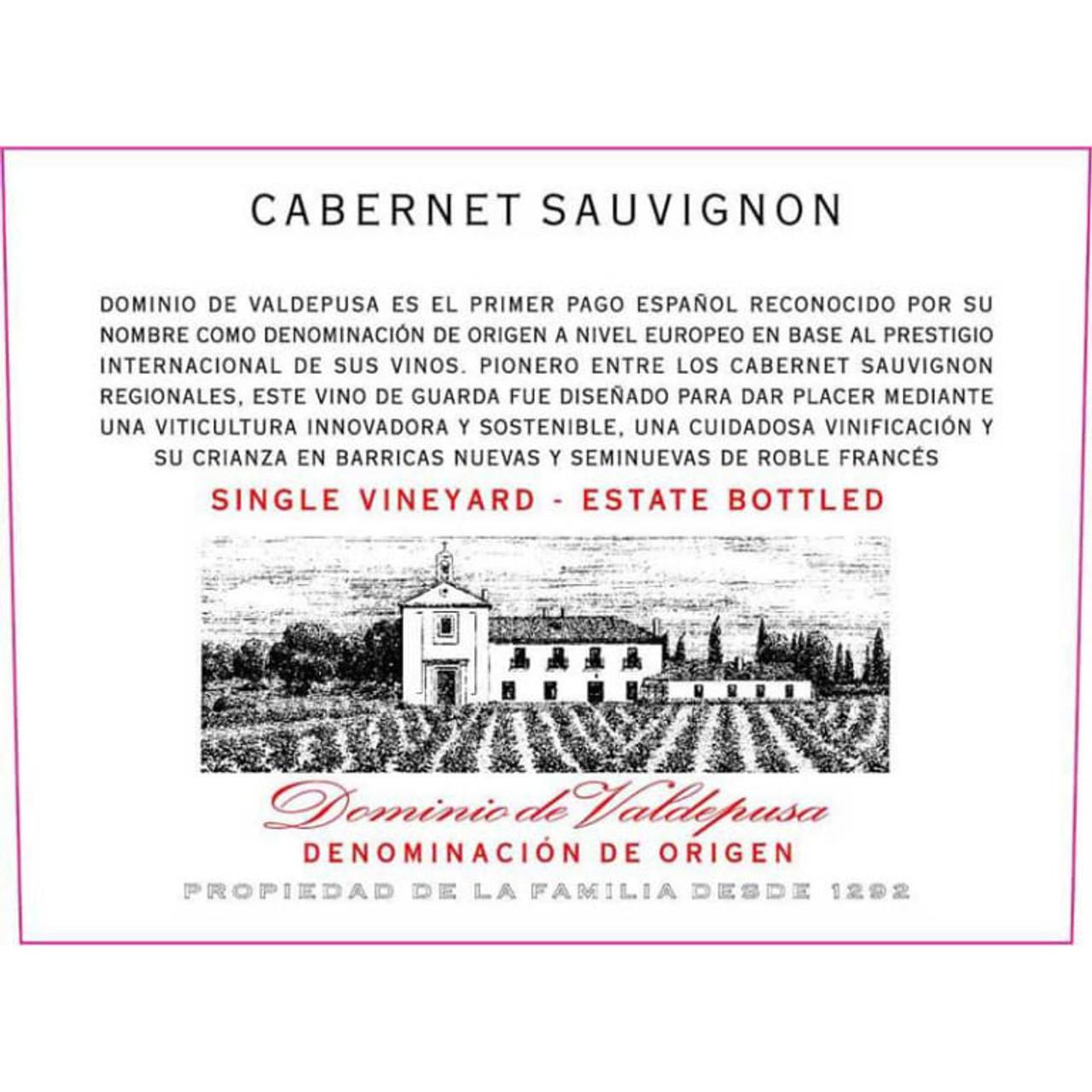 Marques de Grinon, Dominio de Valdepusa Cabernet Sauvignon 2013