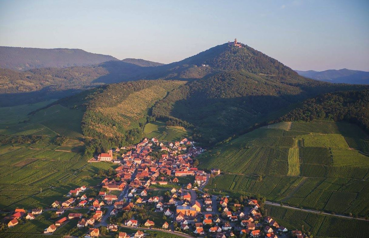 Arial view - Alsace