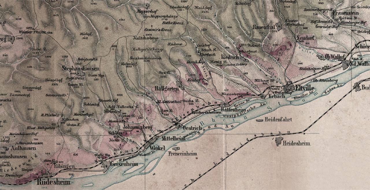 Rheingau Map