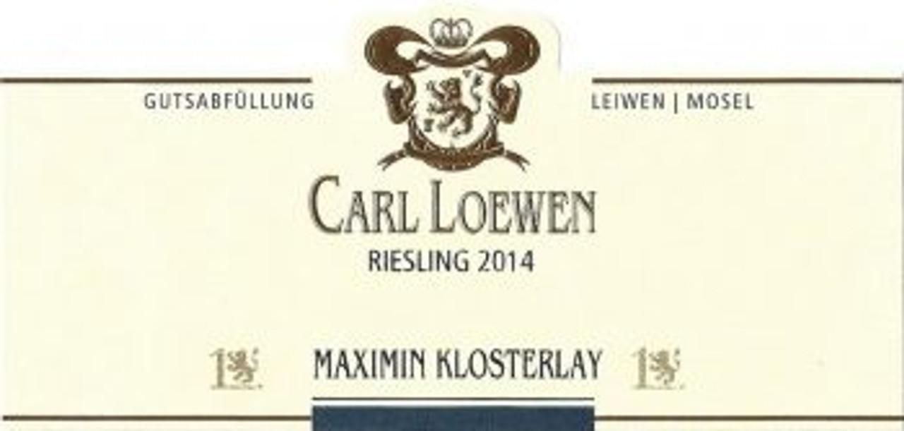 Loewen, Maximiner Klosterlay Riesling 2017
