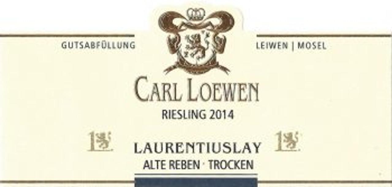 Loewen, Leiwener Laurentiuslay Alte Reben Riesling Trocken  2017