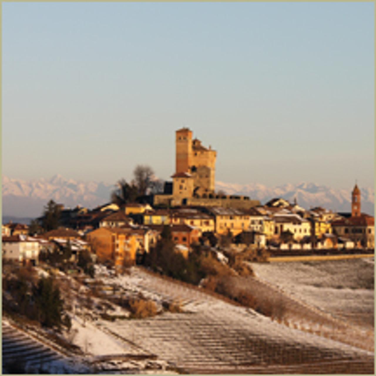 Serralunga d'Alba in Winter