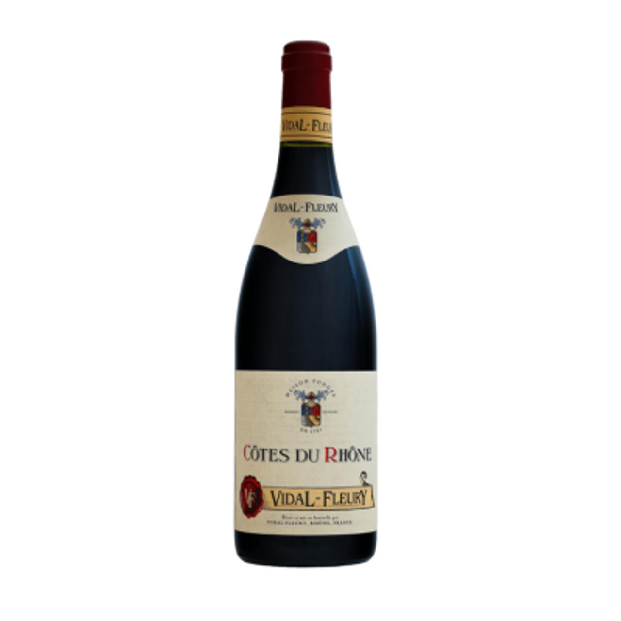 Vidal Fleury, Cote Du Rhone Rouge 2015