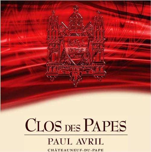 Clos Des Papes, Chateauneuf-du-Pape, Tradition 2016