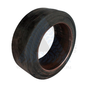 17x5x12-1/8 Made In USA Cushion Solid Tire