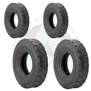 6.50-10 10PR and 5.00-8 10PR K9 Forklift Air Pneumatic Tires or TTFs 4X BUNDLE