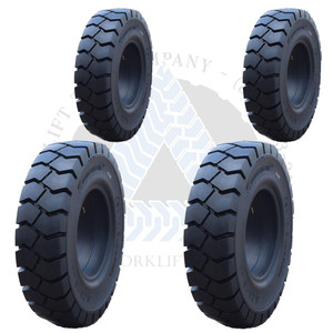 8.25x15-6.50 and 7.00x12-5.00 General-Usage Solid Resilient Tires or 4X DEAL