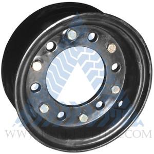 8x3 6-Hole Two-Piece Split Wheel for 5.00-8 Forklift Tire CAT, Toyota, Komatsu Mitsubishi, Nissan, Others