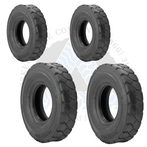 7.00-12 14PR and 6.50-10 10PR K9 Forklift Air Pneumatic Tires or TTFs 4X BUNDLE