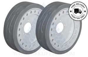 16x5 86 Skyjack Scissor Lift Tire SJ III 3220 3226 4626 4632 WITH BRAKE - or 2X DEAL