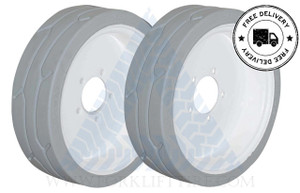16x5 86 Skyjack Scissor Lift Tire SJ III 3220 3226 4626 4632 W/O BRAKE - or 2X DEAL