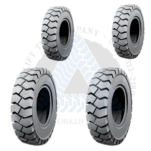 7.00x12-5.00 and 6.00-9 4 Non-Marking Solid Resilient Tires or 4X DEAL