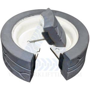 12x472 Skyjack Scissor Lift Tire SJ III 3219 - 2 with Brake, 2 W/O Brake or 4X DEAL