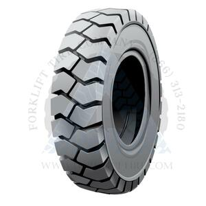 6.50x10-5.00 Non-Marking Solid Resilient Forklift Tire