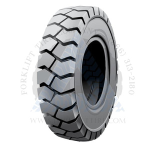 18x7-8-4.33 Non-Marking Solid Resilient Forklift Tire