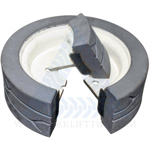 16x5 86 Skyjack Scissor Lift Tire SJ III 3220 3226 4626 4632 - 2 with Brake, 2 W/O Brake or 4X DEAL