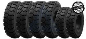 8.25x15-6.50 and 7.00x12-5.00 General-Usage Solid Resilient Tires or 6X DEAL