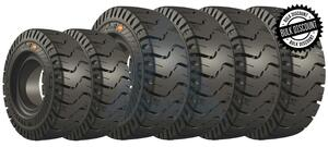 8.25x15-6.50 and 7.00x12-5.00 EliteXP Solid Pneumatic Tires or 6X DEAL