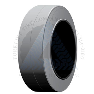 18x6x12-1/8 Non-Marking Solid Cushion Forklift Tire