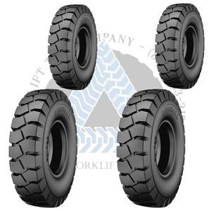 28x9-15 or 8.15-15 14PR and 6.00-9 12PR Starmaxx Forklift Air Pneumatic Tires or TTFs 4X BUNDLE