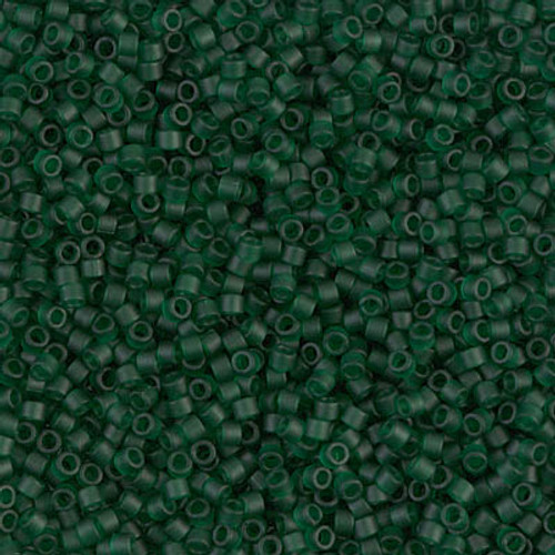 Size 11 - 11g+ Opaque Turquoise Green . Japanese Miyuki Beads