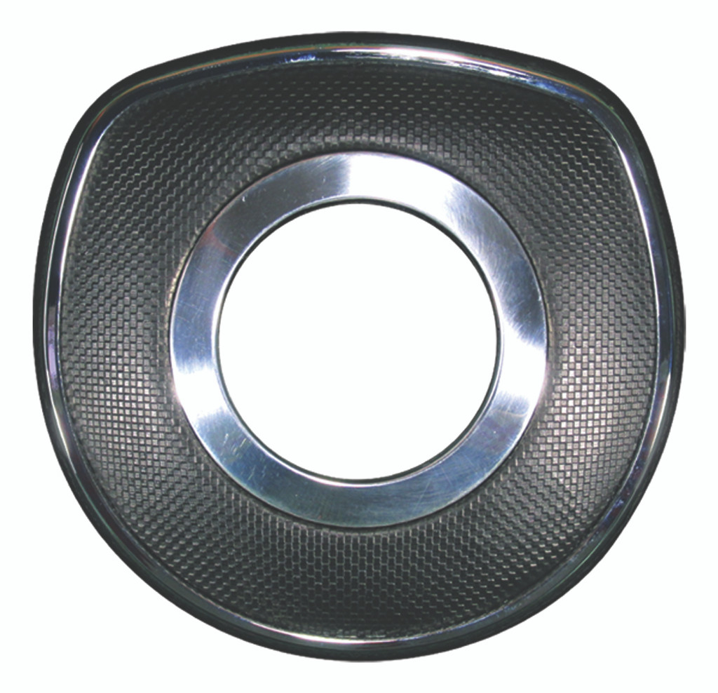 Universal - Black Polyurethane/Chrome