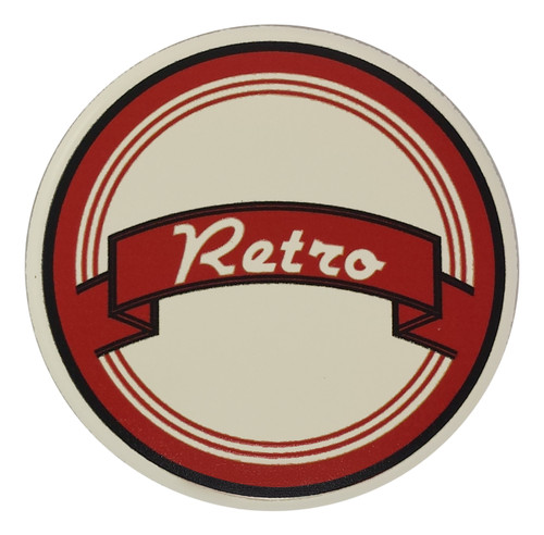 Retro Horn Button