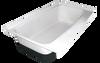 RV Bath Tub Right Hand Drain TU600RH