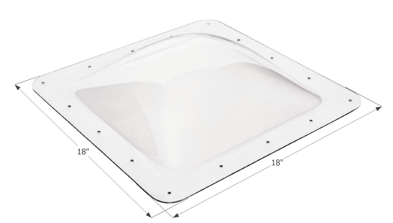 Skylight Dome SL1414W White