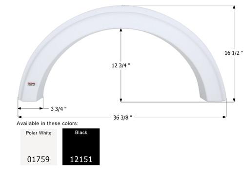 ICON Single Fender Skirt FS1759