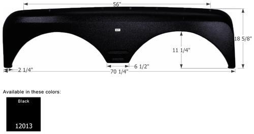 Gulf Stream 5th Wheel Travel Trailer Fender Skirt FS2013