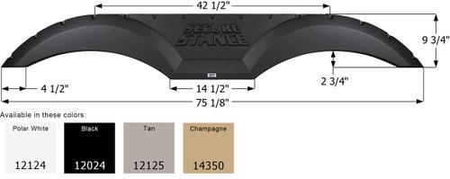 Thor 5th Wheel Travel Trailer Fender Skirt FS2024