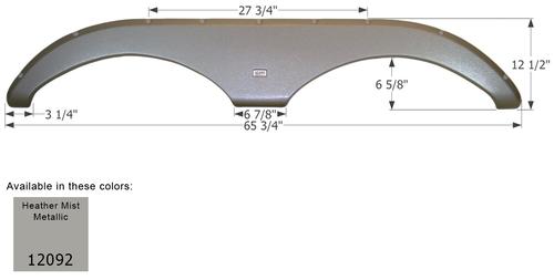 Gulf Stream 5th Wheel Travel Trailer Fender Skirt FS2092