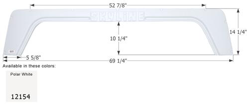 Layton Skyline 5th Wheel Travel Trailer Fender Skirt FS2154